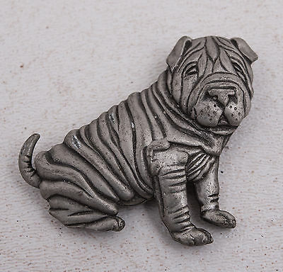 Dog Pendant Sharpei Shar Pei (A2R) Pin Jewelry