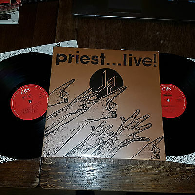 Judas Priest ‎– Priest... Live! Double live LP 1987 EX+