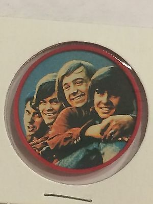 T- 1967 MONKEES Collector Coins Discs KELLOGG'S Cereal Music