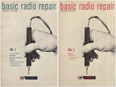 BASIC RADIO REPAIR – Volumes 1 & 2 – Vintage Antique Servicing Info – CD