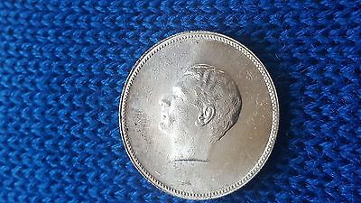 Silver Coin 2500 Year Anniversary Of Persian Empire 1350 (1971)