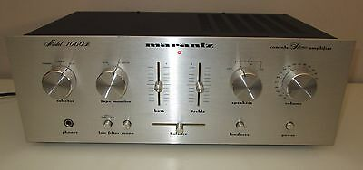 Marantz 1060B Integrated Stereo Amplifier Works Perfect A+ Condition *serviced*