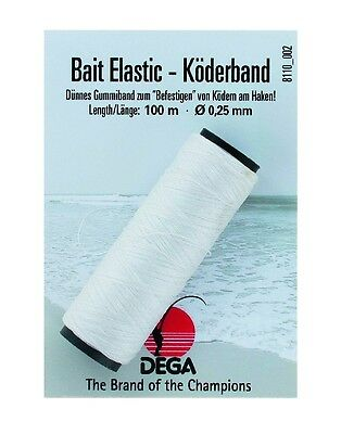 Bait-Elastic-Band 100 m, 0,25 mm