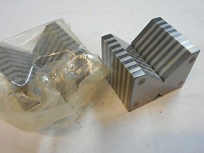 Magnetic Chuck V-Blocks, Small Matched Pair