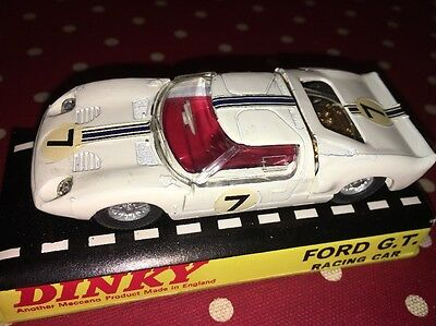 Dinky 215 Ford GT Racing Car