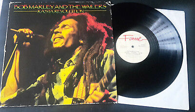 "1974 Bob Marley & The Wailers Rasta Revolution 12"" Vinyl Record LP Fame"