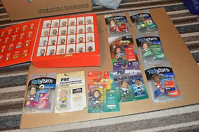 Coritnhian football figures Blister pack,s and small heads Jon Lot