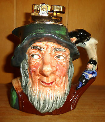 Royal Doulton Rip Van Winkle D6463 *ULTRA RARE* Table Lighter! Book Price £350!