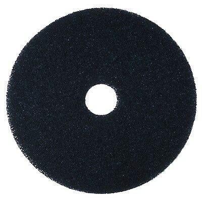 "3M Black Stripper Pad 7200 20"" Floor Care Pad (Case of 5) 20 inches"