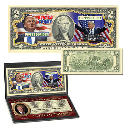 Donald Trump Elected 45th President Currency Collection