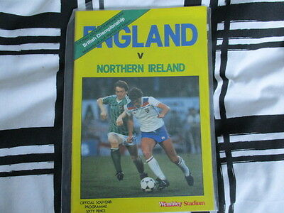 england v northern ireland 1984