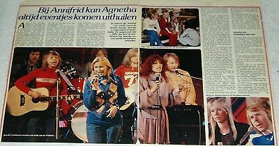 """Abba-  Rare Clippings Magazine """"the Story"""" 43/79"""