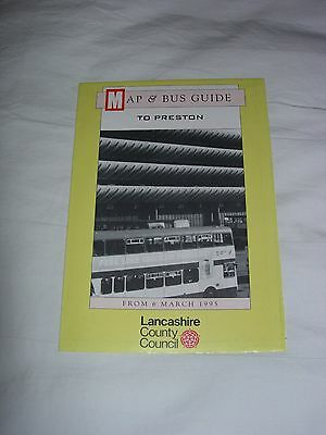 Bus Map and Guide to Preston March 1995