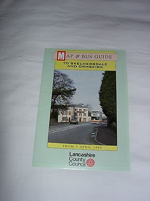 Bus Map and Guide to Skelmersdale and Ormskirk April 1995