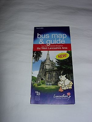 Bus Map and Guide to West Lancashire March 2008