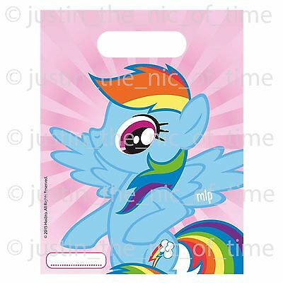 MY LITTLE PONY PARTY BAGS Childrens Birthday Party Supplies Girls Gift Bags