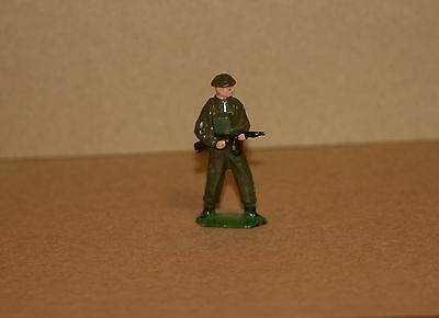 Vintage Lead Toy Soldier / Army Officer With Rifle  - U 355