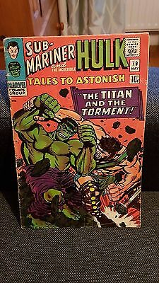 Tales to astonish 79 submariner and the incredible hulk