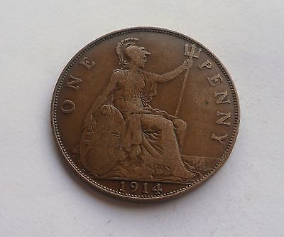 1914 Penny, George V. Lovely Condition.