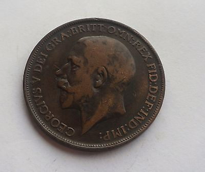 1913 Penny, George V. Lovely Condition.