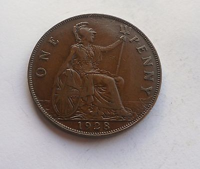 1928 Penny, George V. Lovely Condition.