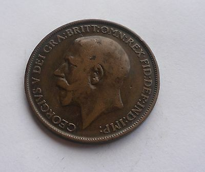 1912H Penny, George V. Lovely Condition.