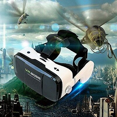 3D VR Headset, DMYCO 3D VR Glasses 3D Virtual Reality Headset Support Call