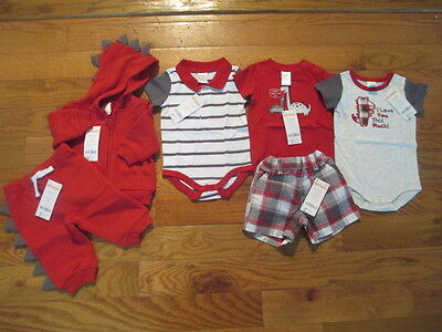 6 piece LOT of baby boy spring/summer clothes size 3-6 months NWT GYMBOREE