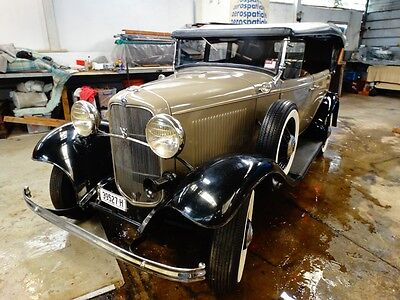 1932 Ford Deluxe Phaeton - Low miles
