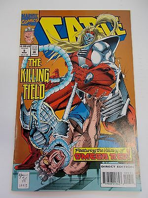 March 1994 Marvel Cable The Killing Field No. 9 Comic