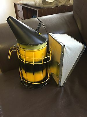 Bee Hive Smoker, Novelty Item Painted In Bee Colours