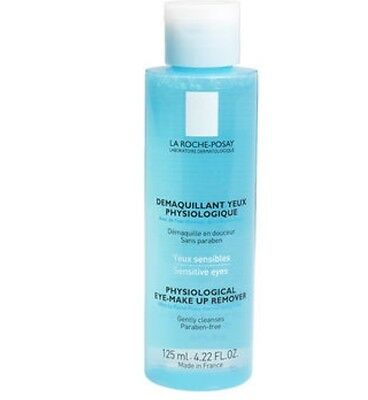 LA ROCHEPOSAY PHYSIOLOGICAL EYE MAKEUP REMOVER, SENSATIVE EYES 125ml *BRAND NEW*