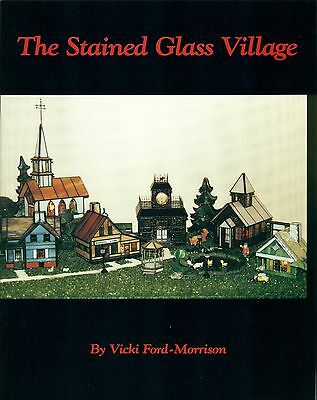 Stained Glass Village Stained Glass Pattern Book, Houses, Books, Buildings