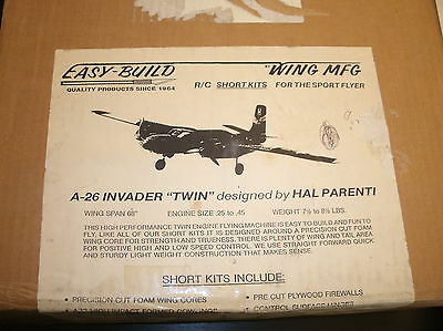Wing MFG  A-26 Invader RC Airplane Kit