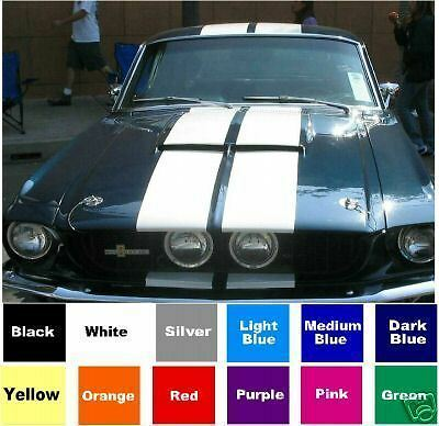 """8"""" Racing Stripes Kit For A Mustang Or Any Car Or Truck - You Pick The Color"""