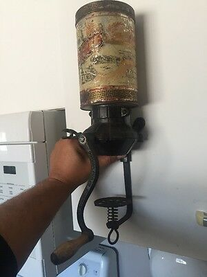 Antique And Very Rare Coffee Mill Freídag MFG CO Freeport Ill