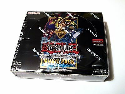 YuGiOh The Dark Side Of Dimensions NEW SEALED Booster Box Movie Pack MVP1 Konami