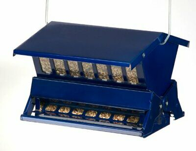 Absolute II Squirrel Proof Bird Feeders Electric Blue 7537