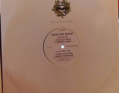 Depeche Mode vinyl promotional copy Policy of Truth etc very rare