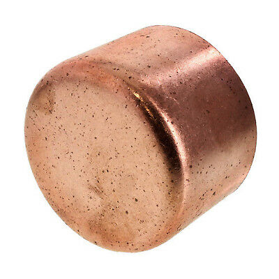 "1"" Copper Cap Sweat End (BAG OF 25) - COPPER PIPE FITTING"