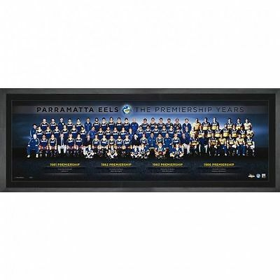 Parramatta Eels The Premiership Years Montage Nrl Print Limited Edition