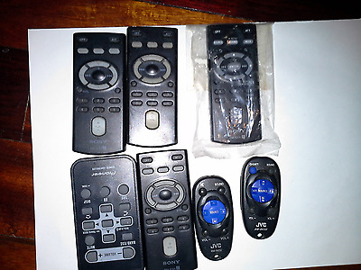 Lot Of Aftermarket Stereo Cd Radio Remotes
