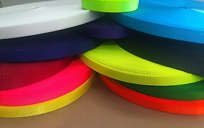 Polyester thick webbing 16mm, 20mm or 25mm wide - General Purpose webbing
