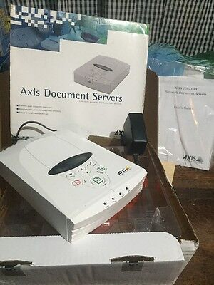 Axis 70U/7000 Network Document Server Supplied