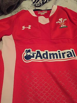 Wales Rugby Shirt Junior Size - Unisex