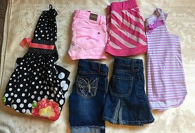 Girls Size 7, 7-8, 8 Clothes Lot of 6 Items