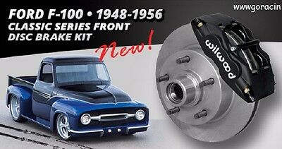 Wilwood Classic Front Brake Kit Ford F100 53-56 and ,F Series 48-55  4 piston
