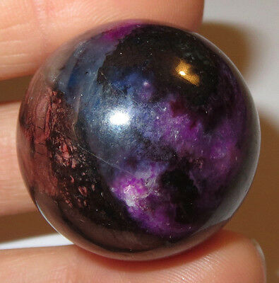 Beautiful Rare Sugilite Richterite Bustamite Crystal Sphere South Africa