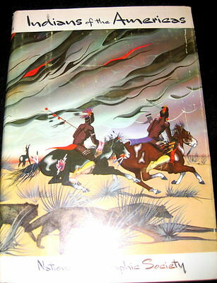 National Geographic on Indians of the Americas; a Color-Illustrated Record 1955