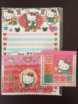 Hello Kitty Stationery Vintage Imported
